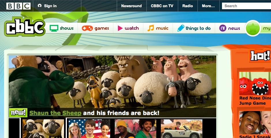 Nominee - CBBC iPlayer