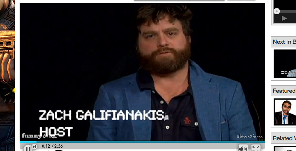 Nominee - Between Two Ferns with Zach Galifianakis