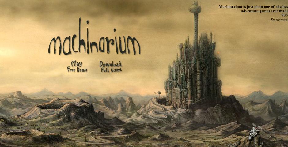 Webby Award Nominee - Machinarium