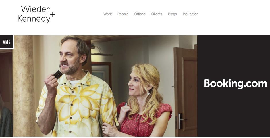 Webby Award Winner - Wieden+Kennedy Site Relaunch