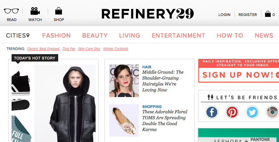Nominee - Refinery29