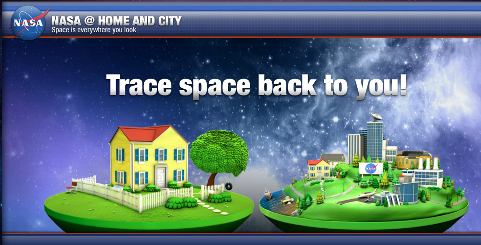 2010 Webby Winner - NASA Home & City Version 2.0