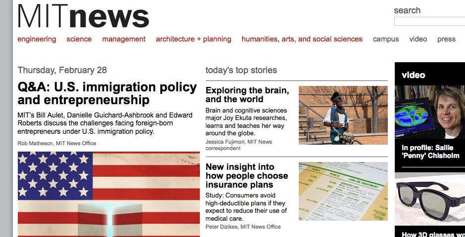 People's Voice - MIT News Office