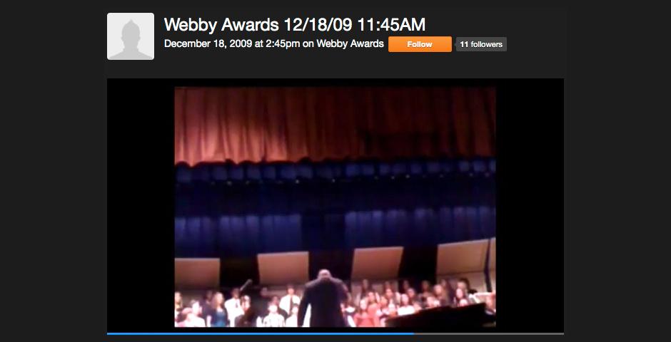 2010 Webby Winner - Ustream Mobile Shares Life\'s Moments