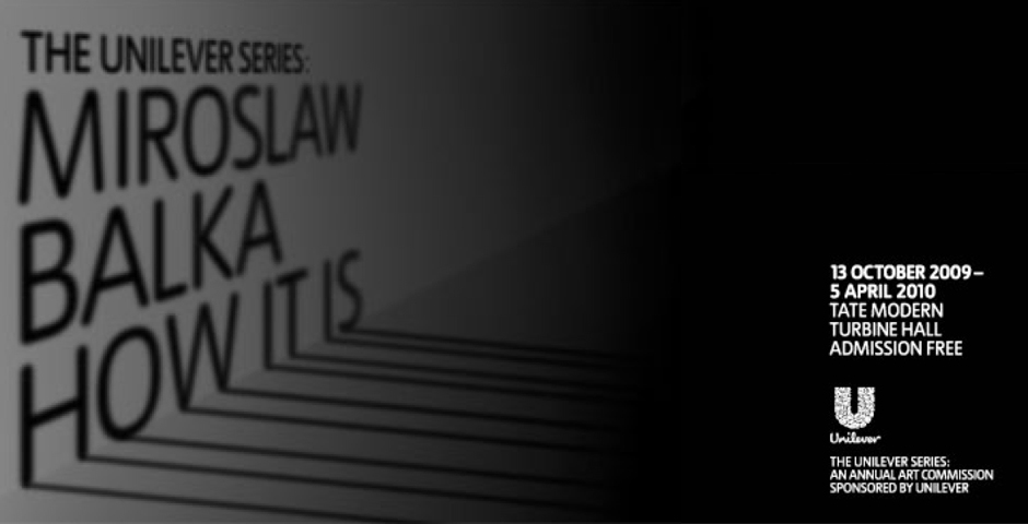Webby Award Winner - The Unilever Series 2009: Miroslaw Balka, How It Is