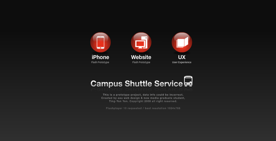 Nominee - Academy of Art University Shuttle Service Web Application