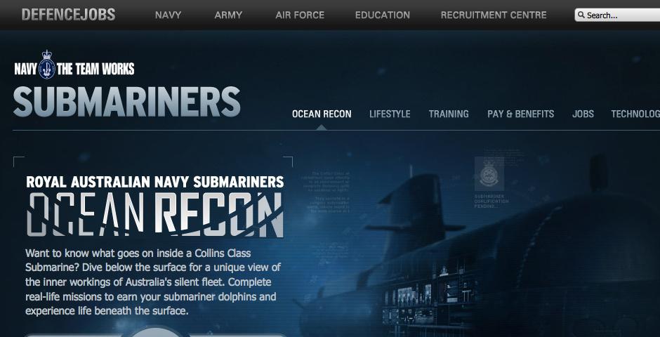 Webby Award Nominee - Ocean Recon
