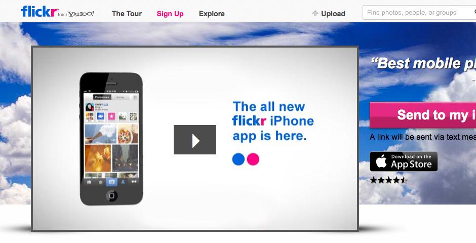 Flickr -- The Webby Awards