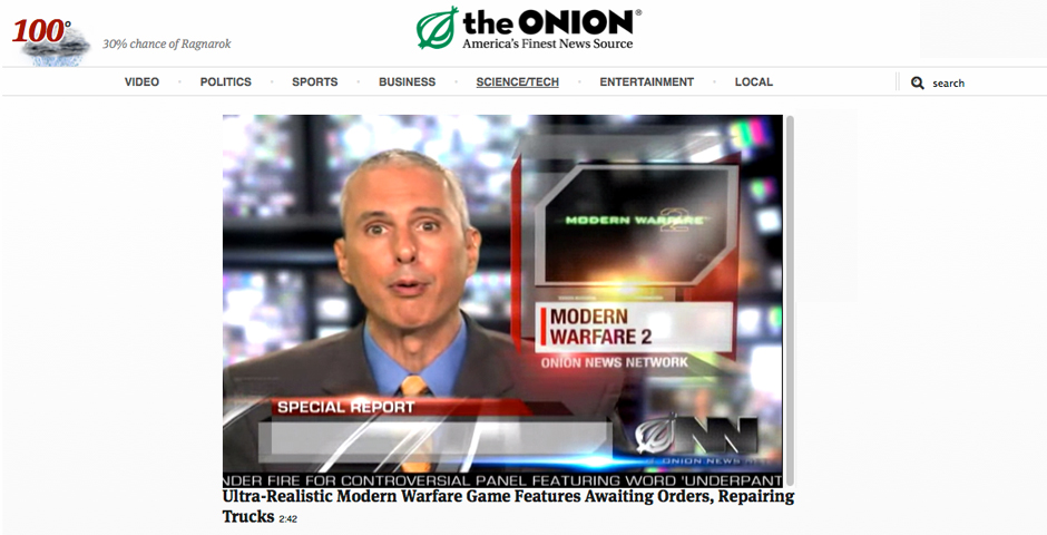 Nominee - The Onion