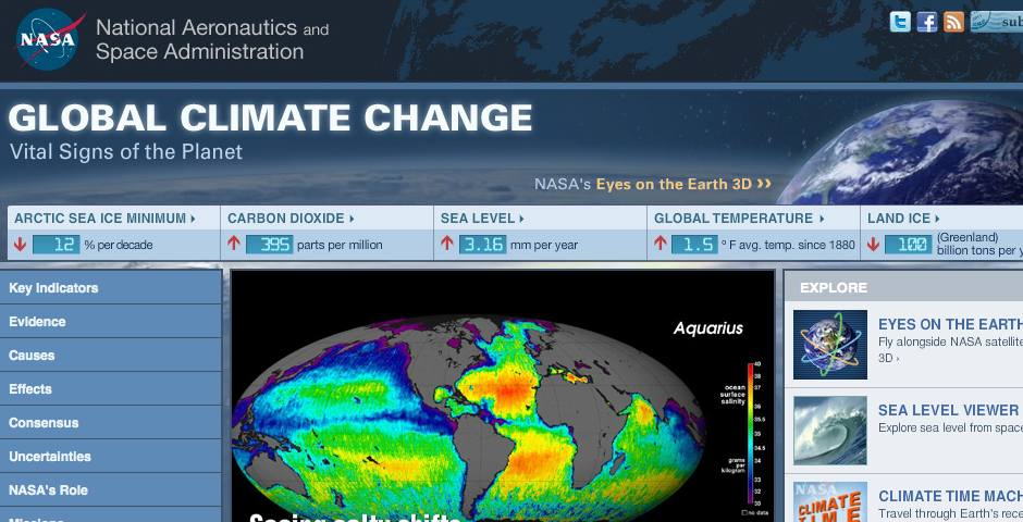 People's Voice - NASA Global Climate Change