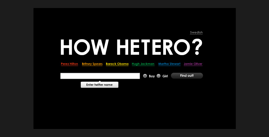 Webby Award Nominee - How Hetero