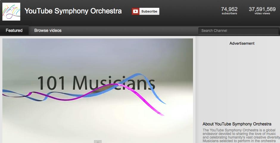 Nominee - YouTube Symphony Orchestra