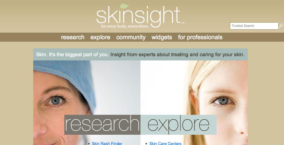 Webby Award Nominee - Skinsight