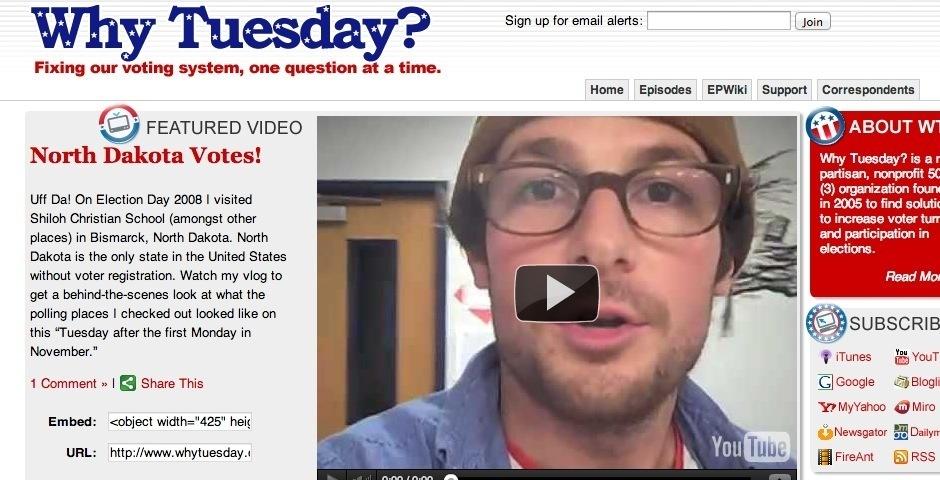 Webby Award Nominee - Why Tuesday?