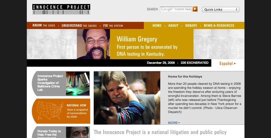 Nominee - Innocence Project