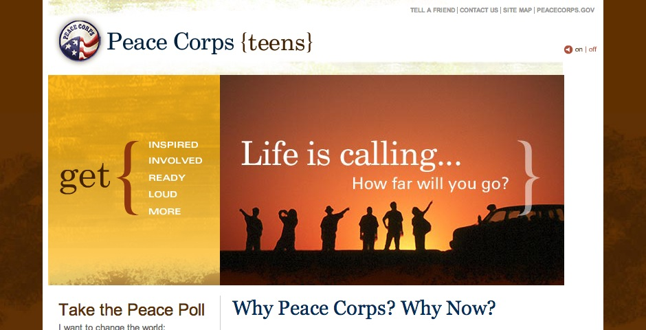 Webby Award Winner - Peace Corps {teens}