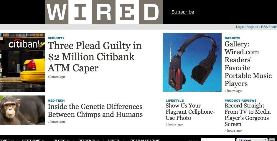 Webby Award Nominee - Wired.com