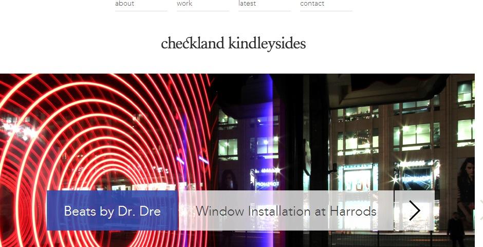 Webby Award Winner - Checkland Kindleysides