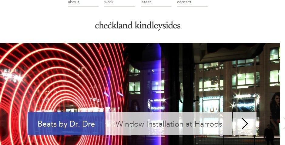 Webby Award Nominee - Checkland Kindleysides