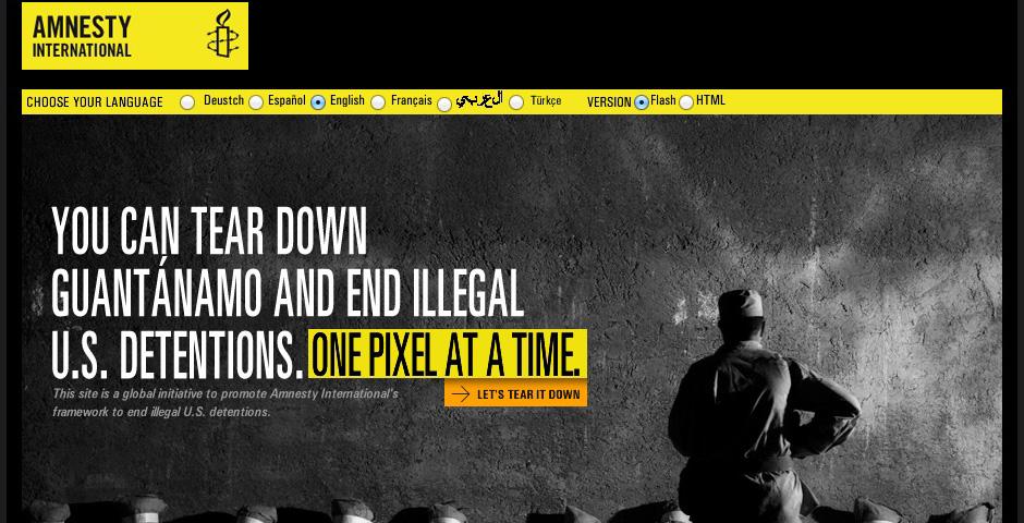 Nominee - Tear Down Guantanamo Bay
