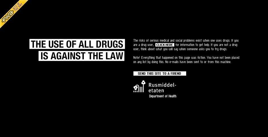 2008 Webby Winner - Try Drugs