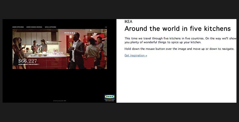 Nominee - Around The World in 5 Kitchens