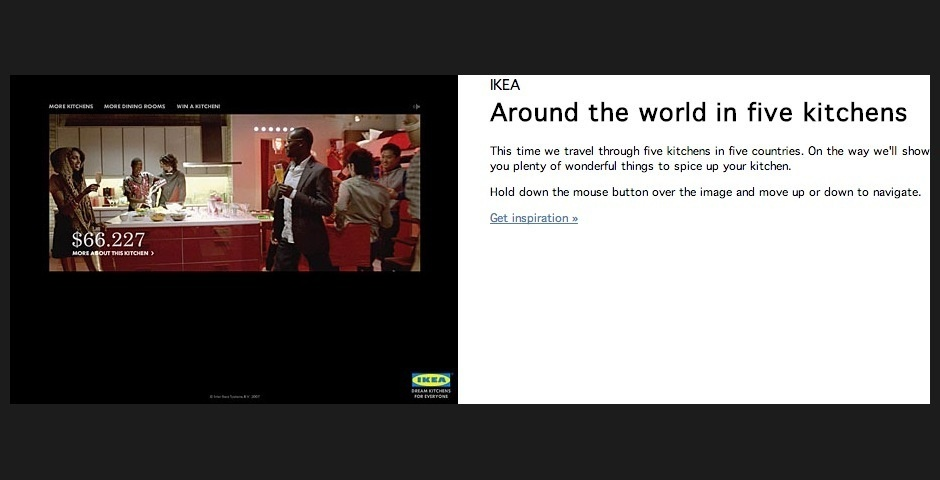 Webby Award Nominee - Around The World in 5 Kitchens