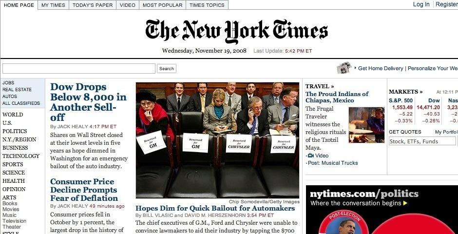 2008 Webby Winner - NYTimes.com