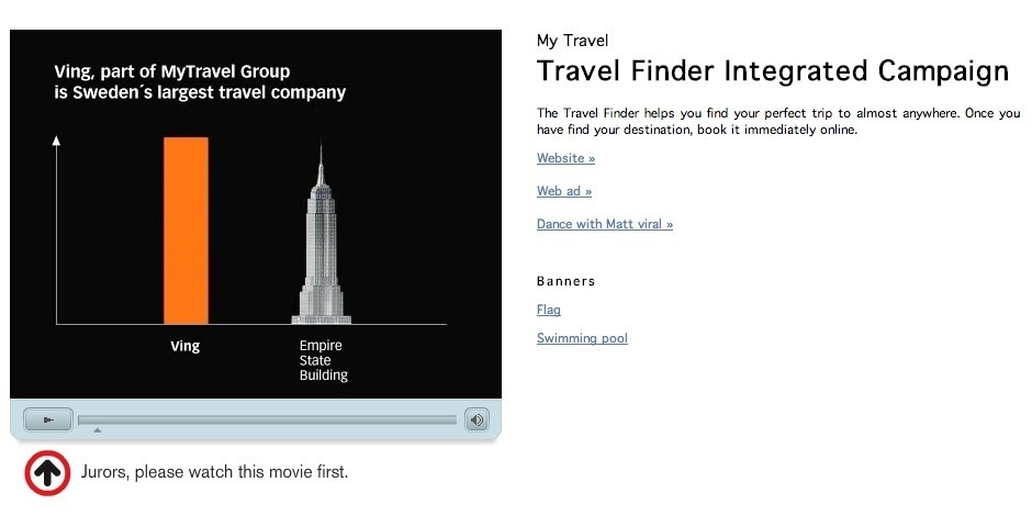 Webby Award Nominee - TRAVELFINDER