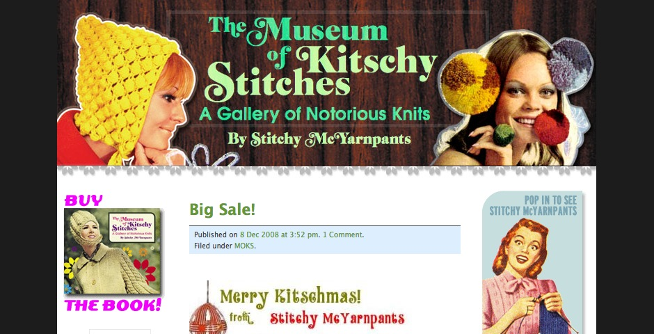 Nominee - Museum of Kitschy Stitches