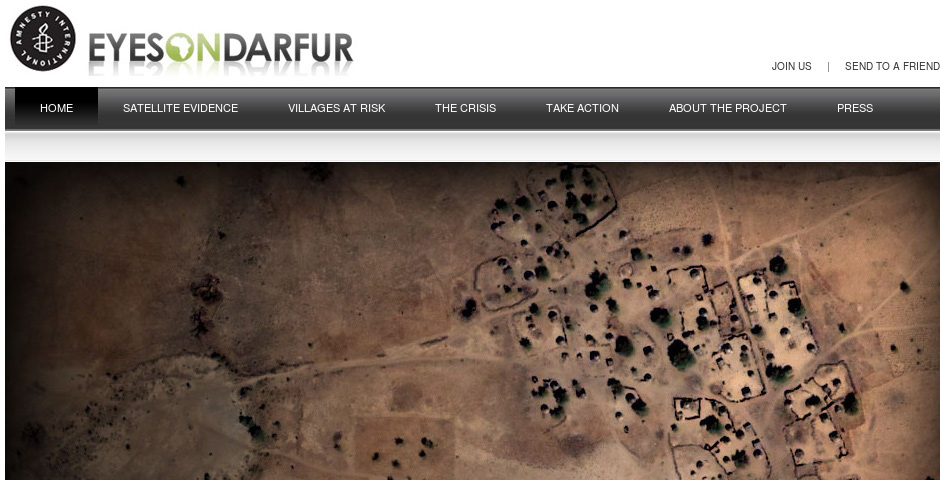 Nominee - Eyes on Darfur