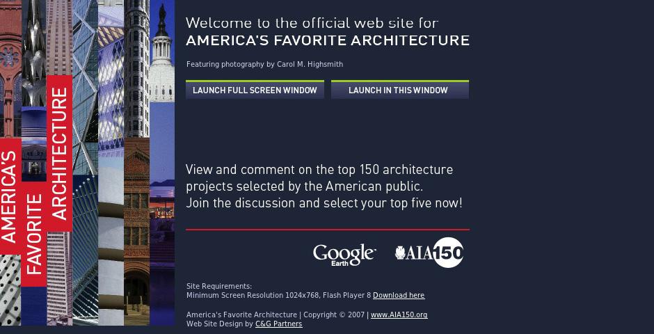 People's Voice - America's Favorite Architecture