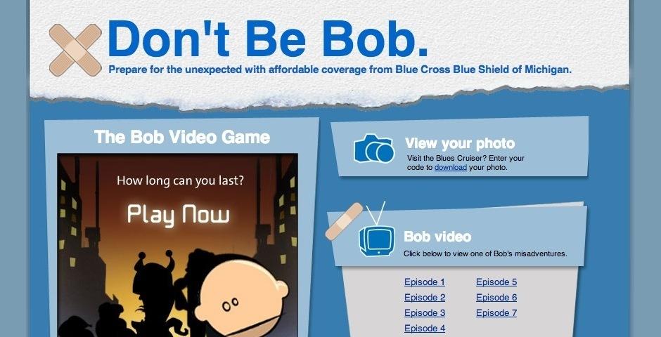 2008 Webby Winner - don\'t be Bob