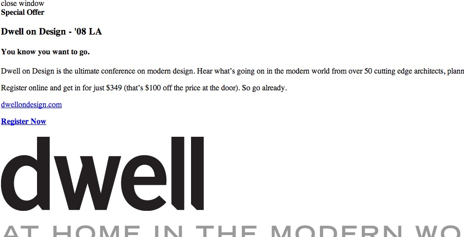 Nominee - Dwell.com