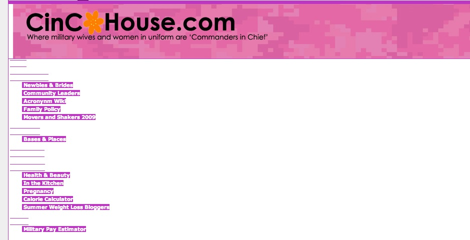 Webby Award Winner - CinCHouse.com