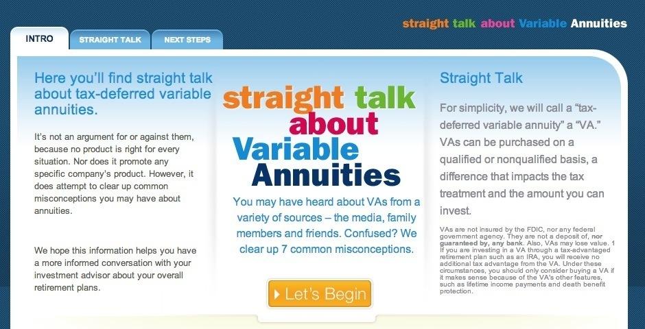 Webby Award Nominee - The Hartford Straight Talk