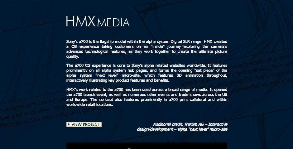 Nominee - Sony Alpha – Next Level