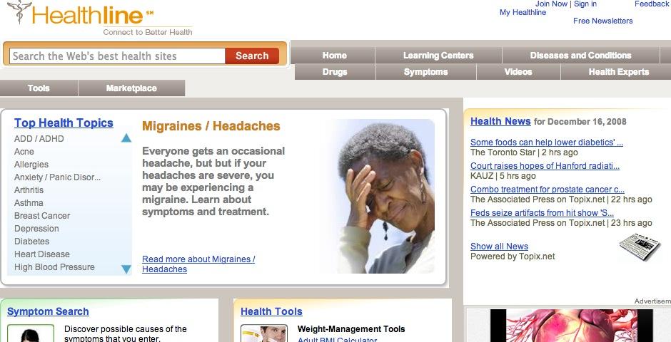 Nominee - Healthline