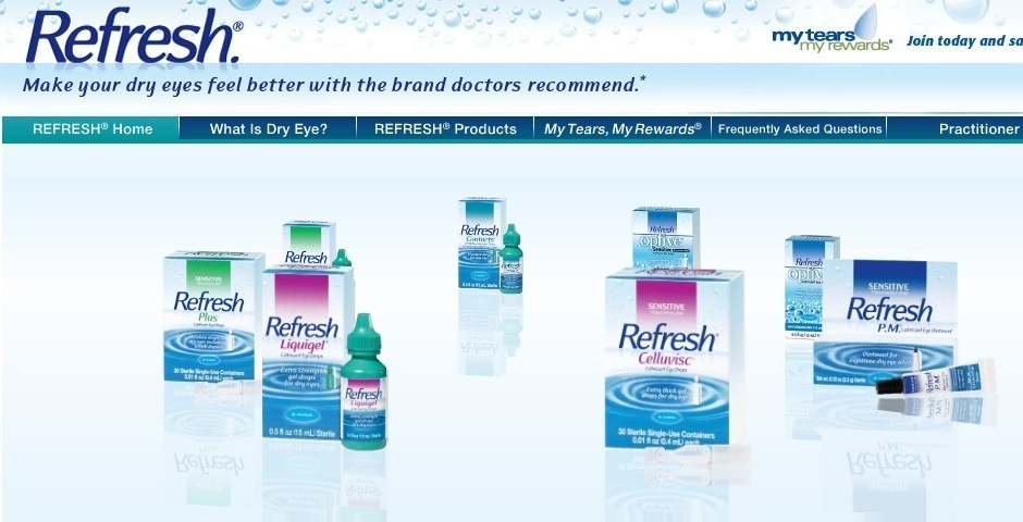 Webby Award Nominee - REFRESH BRAND