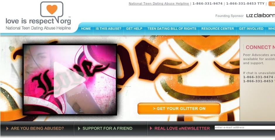 Webby Award Winner - loveisrespect.org