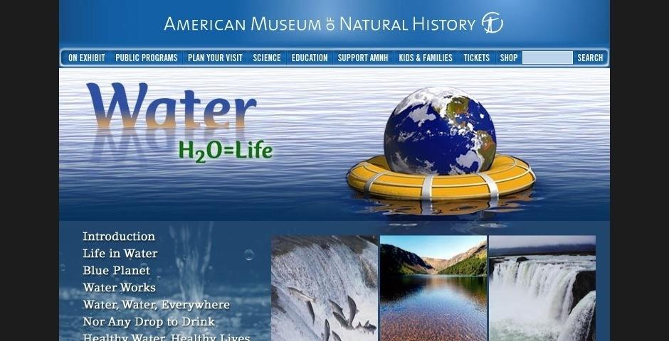 Webby Award Nominee - Water: H2O = Life