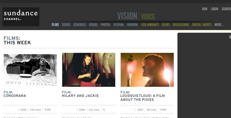 Nominee - Sundance Channel – Iconoclasts