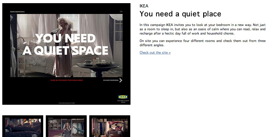 Nominee - You Need A Quiet Space