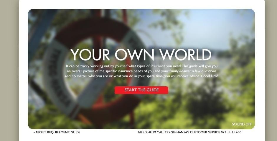 2008 Webby Winner - Your own world