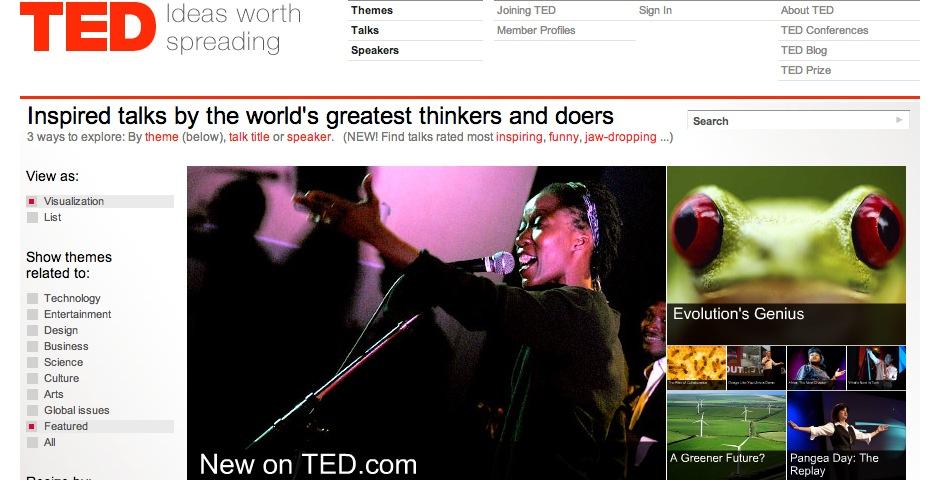 Webby Award Winner - TED.com