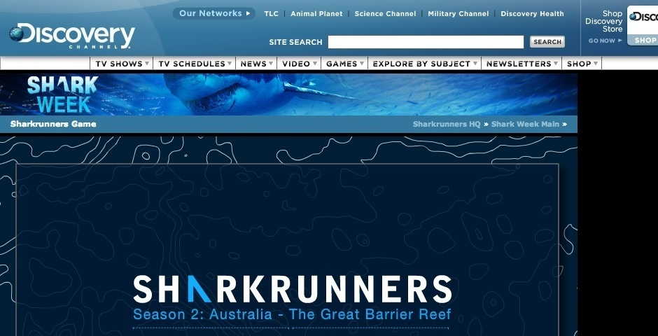 Webby Award Nominee - Sharkrunners