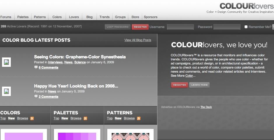 Nominee - COLOURlovers :: Color Trends + Palettes