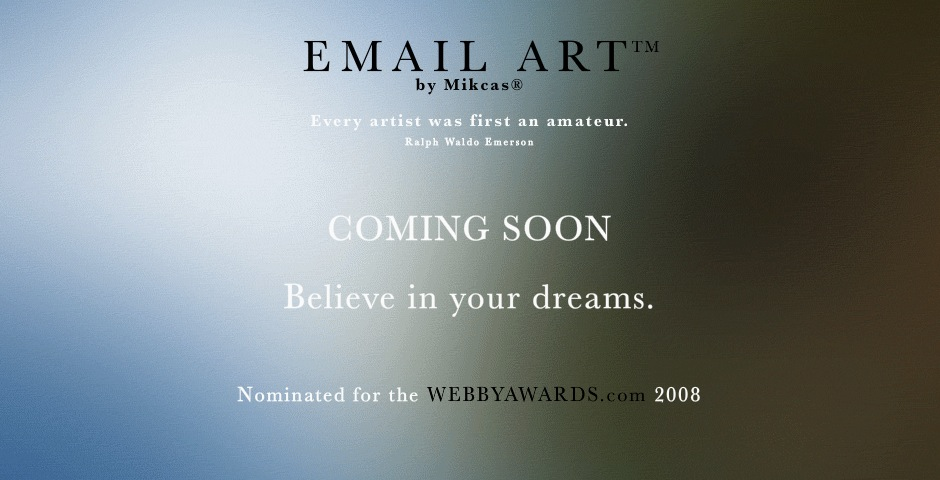 Nominee - EMAIL ART