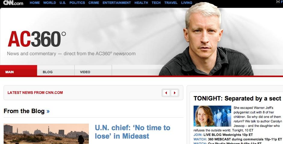 Nominee - Anderson Cooper 360