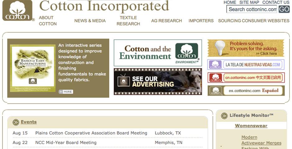 Webby Award Winner - Cotton Inc – Team Cotton